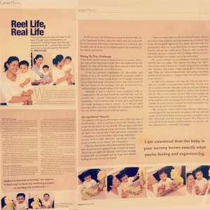 Motherhood Magazine Feature Cover Naserimah