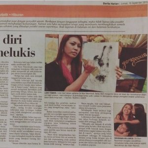 Naserimah Berita Harian Art Therapist Interview