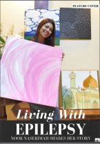 Naserimah Elegance Magazine Feature Cover