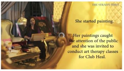 Naserimah The Straits Times Artist & Art Therapist