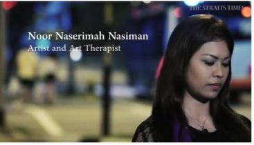 Naserimah The Straits Times Artist & Art Therapy