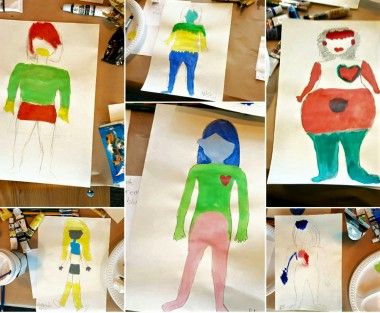 Art Therapy for Body Image Self Esteem
