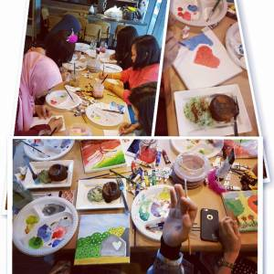 Art Therapy for Ladies Hen Party