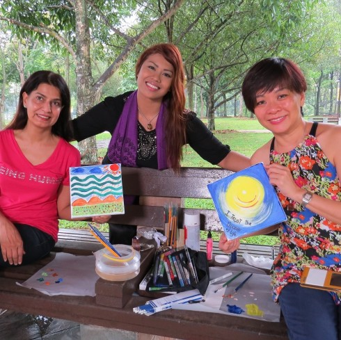 Art Therapy for Ladies at the Park
