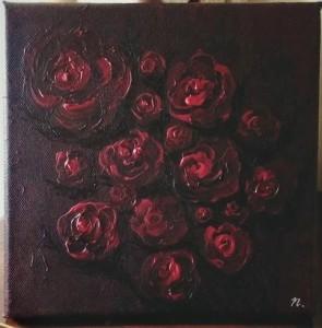 """Title : """"Bleeding Roses"""""""