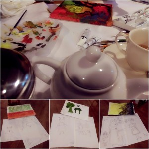 Art Therapy with High Tea